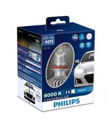 Лампа світлодіодна Philips H11 X-treme Ultinon Led +200%, 2 шт/комплект