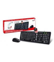Комплект Genius Smart KM-8200 WL Black Ukr