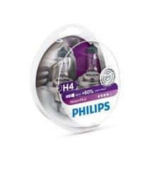Лампа галогенна Philips H4 VisionPlus, 2шт/блістер