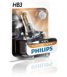Лампа галогенна Philips HB3 Vision, 3200K, 1шт/блістер
