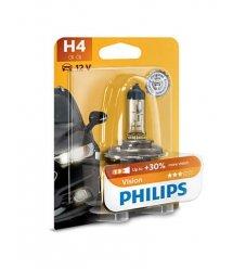 Лампа галогенная Philips H4 Vision, 3200K, 1шт/блистер