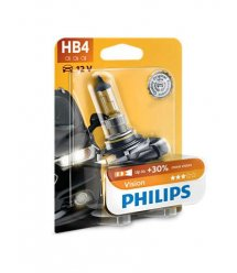 Лампа галогенна Philips HB4 Vision, 3200K, 1шт/блістер