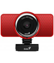 Веб-камера Genius ECam 8000 Full HD Red