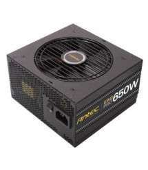 Блок живлення Antec EarthWatts EA650G Pro,12cm fan,a/PFC,80+ GOLD,24+8,3xPeripheral,6xSATA,4xPCIe,mod