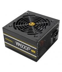 Блок живлення Antec Value Power VP600P Plus 600W,12cm fan,a/PFC,24+8,2xPeripheral,1xFDD,7xSATA,2xPCIe