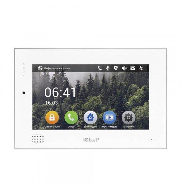 IP відеодомофон BasIP AK-10 v4 білий