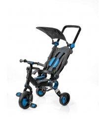 Триколісний велосипед Galileo Strollcycle Black синій GB-1002-B