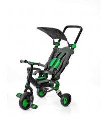 Триколісний велосипед Galileo Strollcycle Black зелений GB-1002-G