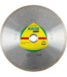Диск алмазний Klingspor по кераміці EXTRA DT300F 125x22,23