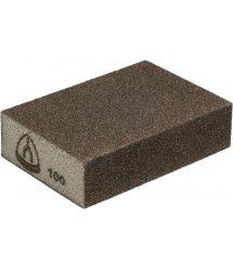 Шлифовальный эластичный брусок Klingspor 100X70X25 Р100 SK 500, четырехсторонняя