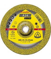 Круг шлифовальный по металлу Klingspor 125х6х22,2 Kronenflex A24 Extra