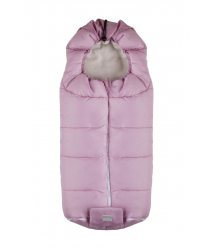 Зимовий конверт NUVITA 9445 Junior ESSENTIAL рожевий/бежевий
