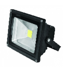 Прожектор LED EUROELECTRIC COB черный 20W 6500K classic