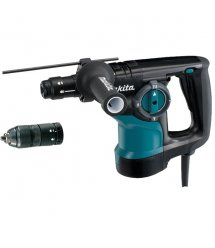Перфоратор Makita HR2810T, SDS-plus, 800Вт, 2.8Дж, 3.5кг