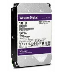 """Жорсткий диск WD 3.5"""" SATA 3.0 10TB 7200 256MB Purple Surveillance"""