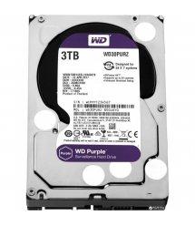 """Жорсткий диск WD 3.5"""" SATA 3.0 3TB 5400 64MB Purple Surveillance"""