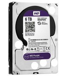 """Жорсткий диск WD 3.5"""" SATA 3.0 6TB 5400 64MB Purple Surveillance"""
