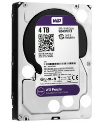 "Жесткий диск WD 3.5"" SATA 3.0 4TB 5400 64MB Purple Surveillance"