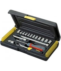 """Набір інструментів 1/4"""" Stanley MicroTough 17 предметів"""