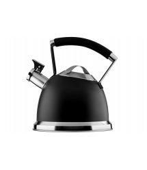 Чайник Ardesto Black Mars, 2,5 л, чорний, нержавіюча сталь