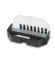 Біти в наборі 10 од. (S- 4.5mm, 5.5mm, 6.5mm, Ph 1, 2, 3 - Pz 1, 2, 3 + тримач)