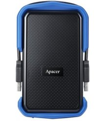 "Жорсткий диск Apacer 2.5"" USB 3.1 2TB AC631 захист IP55 Black/Blue"