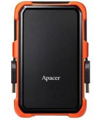 """Жорсткий диск Apacer 2.5"""" USB 3.1 2TB AC630 захист IP55 Black/Orange"""