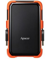 """Жорсткий диск Apacer 2.5"""" USB 3.1 1TB AC630 захист IP55 Black/Orange"""
