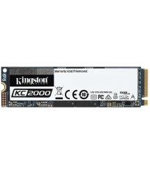 Твердотільний накопичувач SSD M.2 Kingston 500GB KC2000 NVMe PCIe 3.0 4x 2280