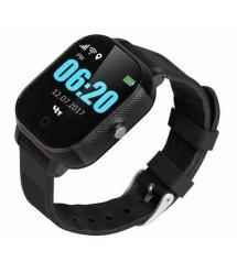 Дитячий телефон-годинник з GPS трекером GOGPS К23 чорний