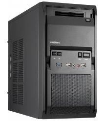 Корпус CHIEFTEC Libra LT-01B,з блоком живлення iArena GPA-400S8 400Вт,1xUSB3.0,mATX,чорний