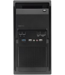 Корпус CHIEFTEC Libra LT-01B,без БП,1xUSB3.0,mATX,черный