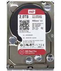 "Жорсткий диск WD 3.5"" SATA 3.0 2TB 7200 64MB Red Pro NAS"