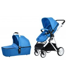 Универсальная коляска 2в1 Miqilong Mi baby T900 Navy Blue (T900-U2BL01)