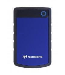 """Жесткий диск Transcend StoreJet 2.5"""" USB 3.1 1TB StoreJet 25H3 Blue"""