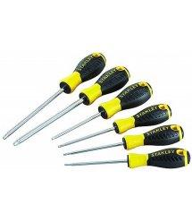 Набір викруток 6 од. Essential хромваннадій + антікорозійне покриття: Т10х100мм, T15х100мм, T20х100мм, Т25х100мм, Т30х150мм, Т40