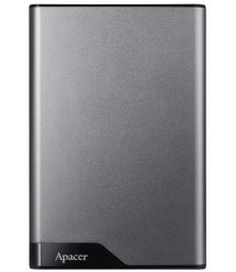 """Жесткий диск Apacer 2.5"""" USB 3.1 2TB AC632 Metal Grey"""