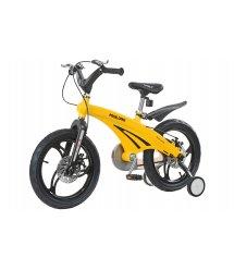 Дитячий велосипед Miqilong GN Жовтий 16` MQL-GN16-Yellow