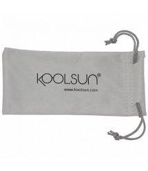 Дитячі сонцезахисні окуляри Koolsun неоново-блакитні серії Wave (Розмір: 3+)