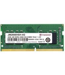 Память для ноутбука Transcend DDR4 2666 4GB SO-DIMM