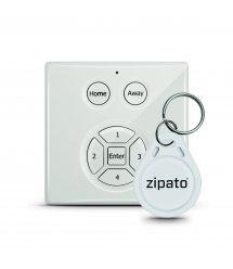 Розумна панель доступу Zipato Mini RFID Keypad, Z-wave, 3V 2 x AA, біла