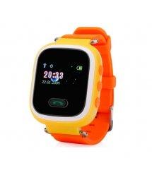 Дитячий GPS годинник-телефон GOGPS ME K11 Жовті