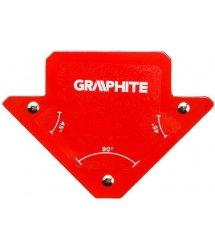 Магнітний зварювальний кутник GRAPHITE 56H901 82 x 120 x 13 мм