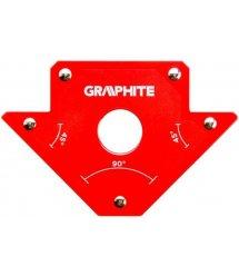 Магнітний зварювальний кутник GRAPHITE 56H902