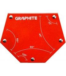 Магнітний зварювальний кутник GRAPHITE 56H905 111 x 136 x 24 мм