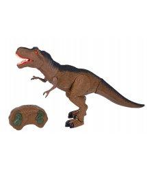 Динозавр Same Toy Dinosaur World коричневий зі світлом і звуком RS6123Ut