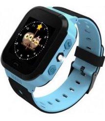 Дитячий GPS годинник-телефон GOGPS ME K12 Синій