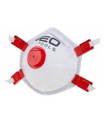 Противопылевая полумаска NEO FFP3 с клапаном, силиконовые уплотнения, 10шт