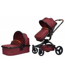 Універсальна коляска 2в1 V-Baby Miqilong X159 червона (X159-05)