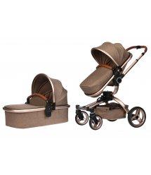 Універсальна коляска 2в1 V-Baby Miqilong X159 бежева (X159-02)